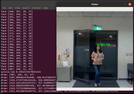 Object Tracking -人臉識別的好搭擋– CH Tseng